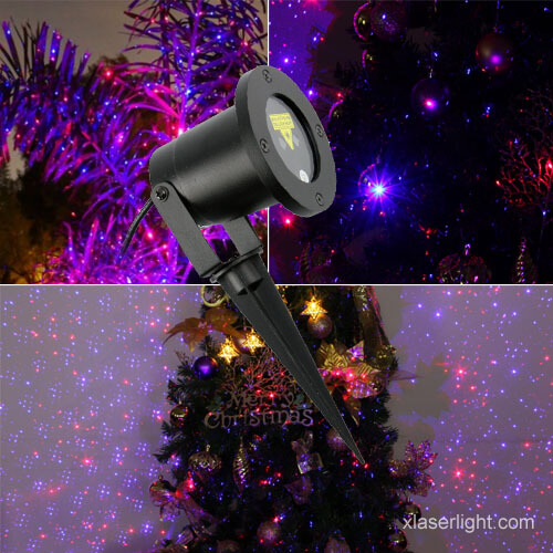 Garden Laser Light Red And Blue X 24p