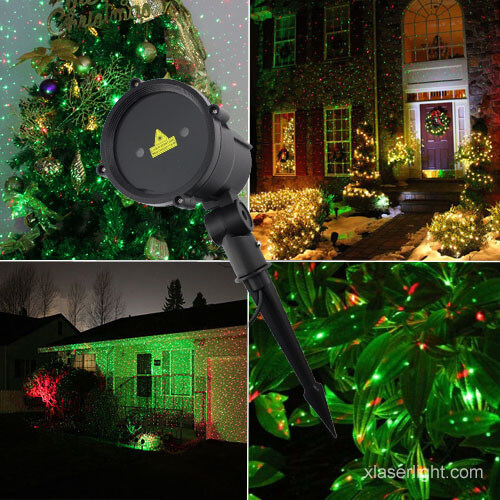 Garden Laser Light Green and Red