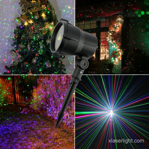 garden laser light RGB moving